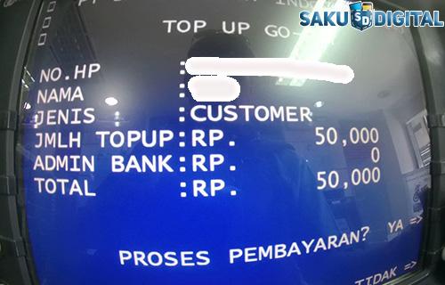 Cara Isi GOPAY di ATM Mandiri yang Mudah