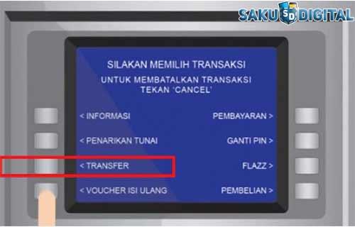Cara Top GoPay Melalui ATM BCA