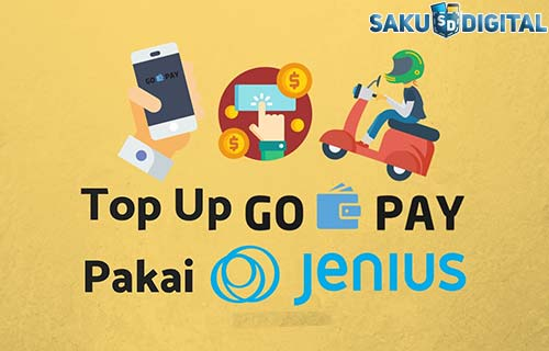 Cara Top Up Gopay Lewat Jenius