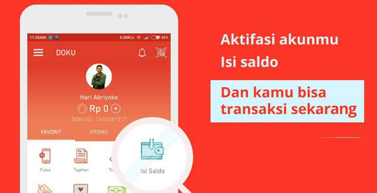 Cara Aktivasi Akun Doku Wallet Premium Terbaru