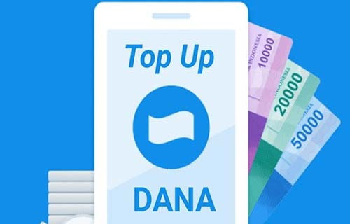Cara Top Up DANA di Mandiri Online