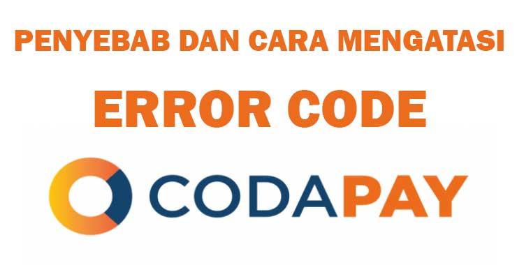 Error Code Codapay