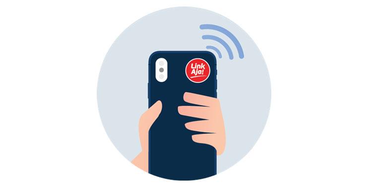 Cara Mengaktifkan Fitur Stiker NFC LinkAja