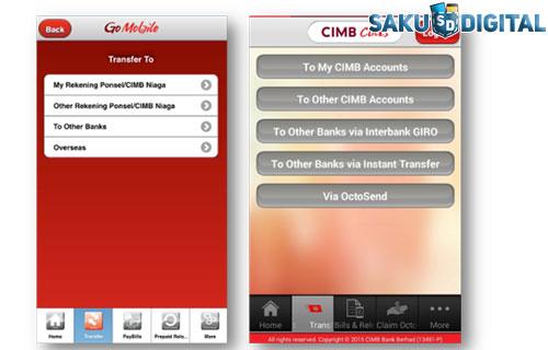 Perbedaan CIMB Clicks dan Go Mobile Terbaru