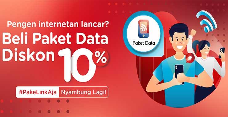 Beli Paket Data di LinkAja