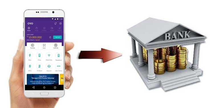Cara Transfer OVO ke Rekening Bank