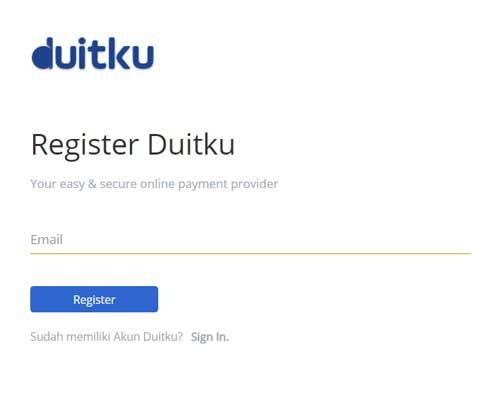 Registrasi Duitku 1