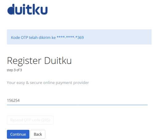 Registrasi Duitku 3