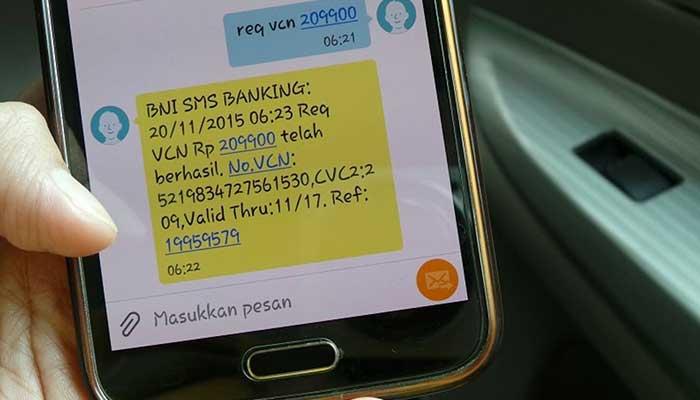 BNI SMS Plain Text