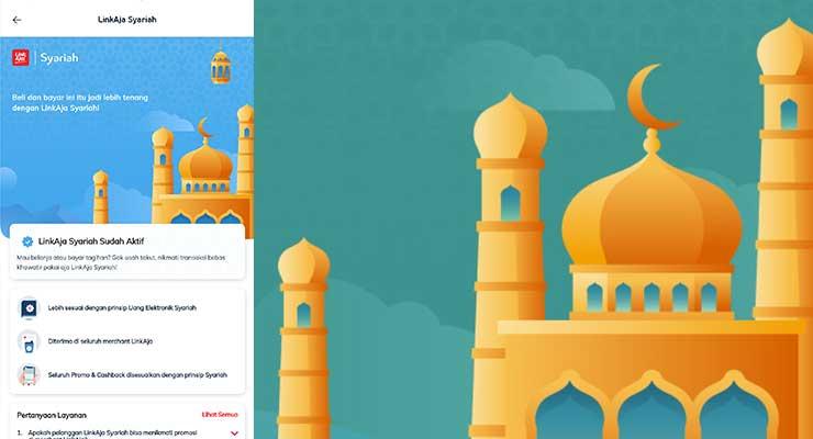 Cara Aktifkan LinkAja Syariah di Aplikasi LinkAja