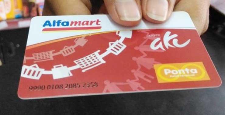 Cara Aktivasi Kartu Ponta Alfamart Terbaru