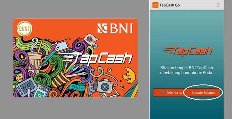 Cara Update Balance TapCash BNI