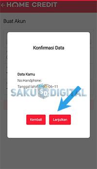 Konfirmasi data