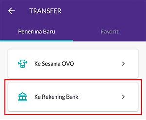 Tap Ke Rekening Bank