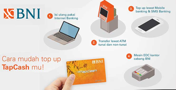 Top Up TapCash BNI