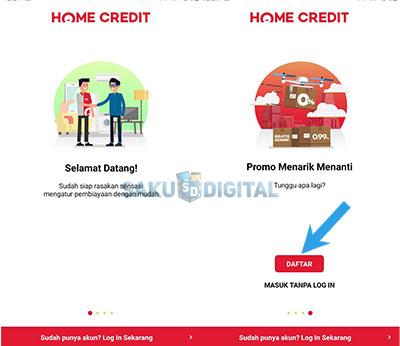 daftar My Home Credit