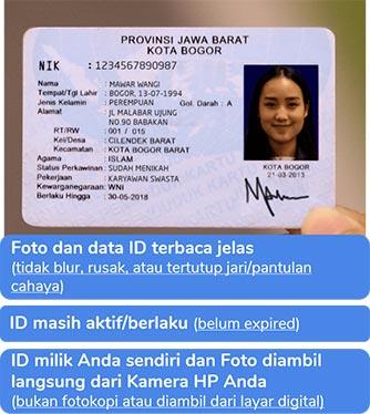 foto identitas