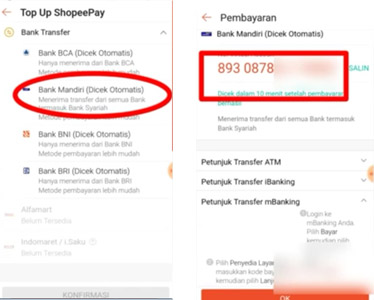 top up ShopeePay lewat GoPay