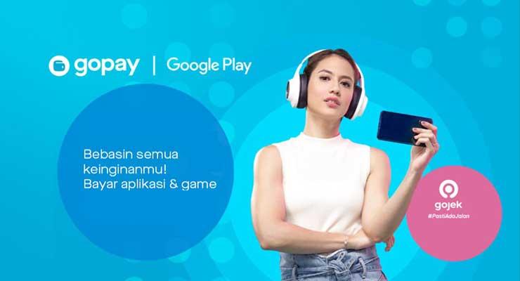 Cara Bayar Tagihan Google Play Pakai Gopay