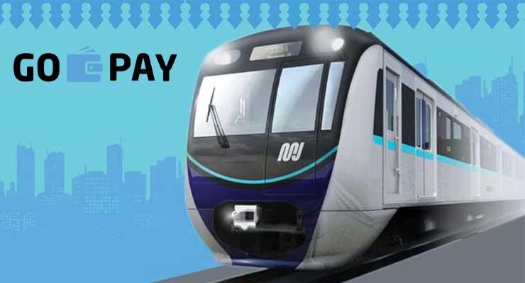Cara Naik MRT Bayar Pakai Gopay Terbaru