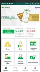 2. Buka Aplikasi Pegadaian Digital