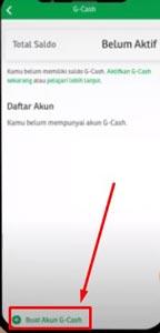 5. Buat Akun G Cash