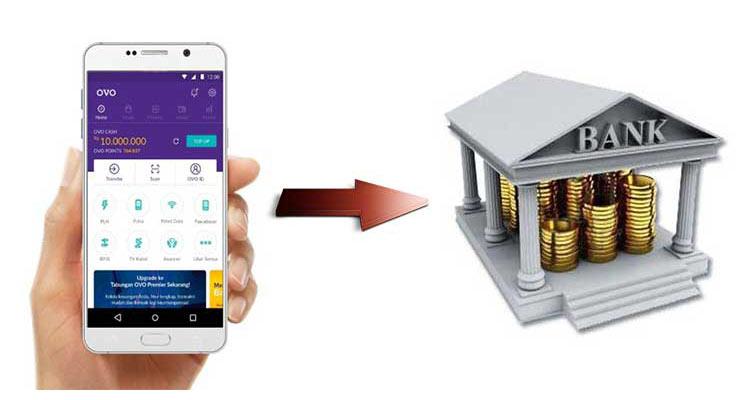 Cara Tarik Tunai OVO Lewat Rekening Bank