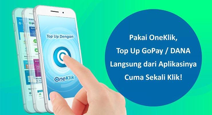 Cara Top Up Gopay Lewat BCA OneKlik Terbaru