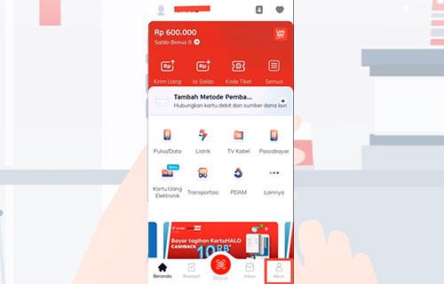 Buka Aplikasi LinkAja