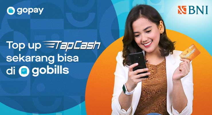 Cara Top Up TapCash Lewat Gopay
