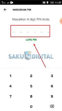 MAsukan PIN Gopay