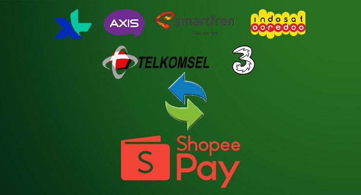 Cara Convert Pulsa Ke ShopeePay 2