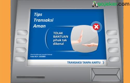 3 Klik Transaksi Tanpa Kartu ATM