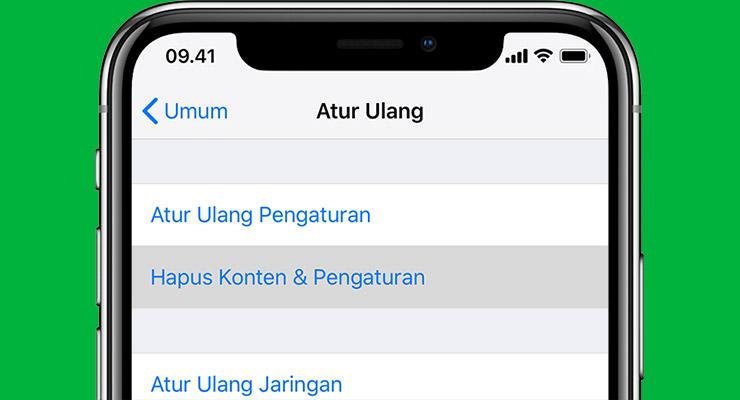 Cara Hapus History OVO di iOS