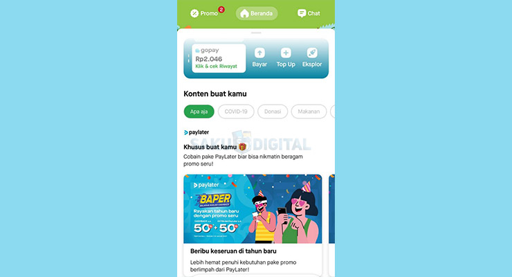 1 Buka Aplikasi Gojek 3