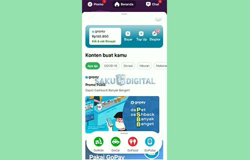 6 Buka Aplikasi Gojek