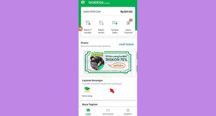 2 Buka Aplikasi Grab Kios