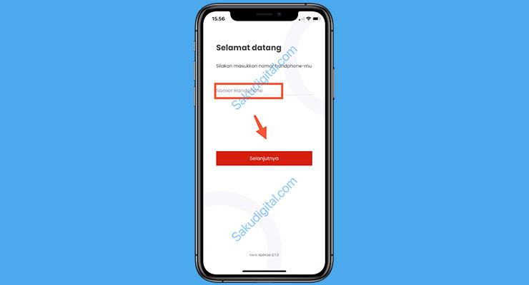 4 Buka Aplikasi Lion Parcel