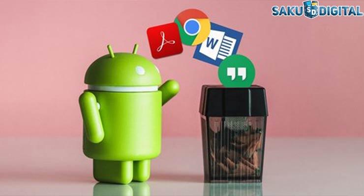 Hapus Aplikasi dan Install Kembali