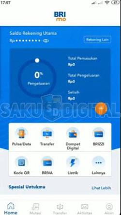1 Buka Aplikasi BRImo 5