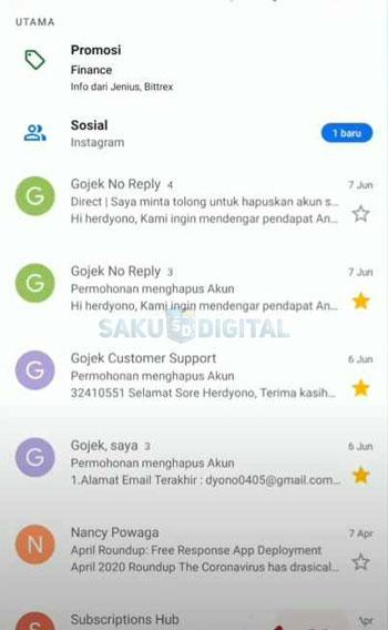 1 Buka Email