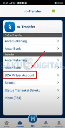 11 Klik BCA Virtual Account