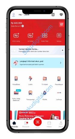 2 Buka Aplikasi LinkAja