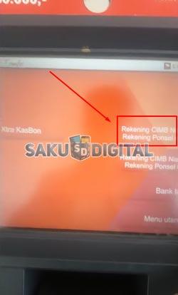 4 Pilih Rekening Transfer Ke Bank Lain