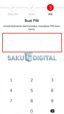 5 Buat PIN LinkAja