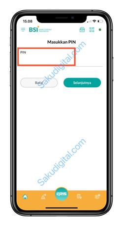 7 Input PIN BSI Mobile