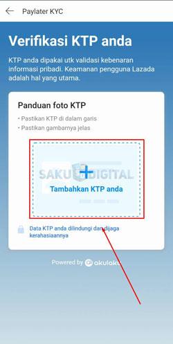 7 Upload Foto KTP