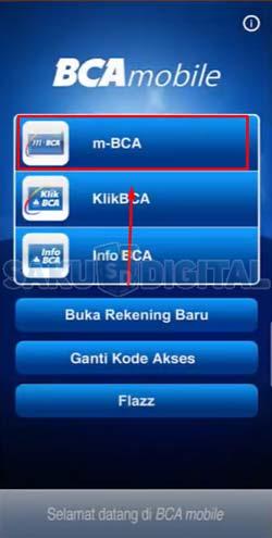 8 Pilih m BCA