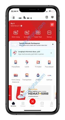 1 Buka Aplikasi Linkaja 1