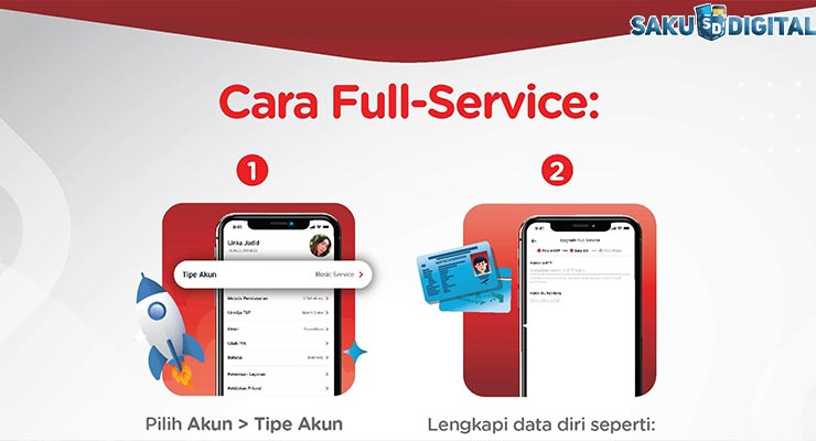 1 Upgrade LinKaja Full Service